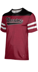 Weber High School: Men's Customizable Fan-Shirt - Game Time (Red)