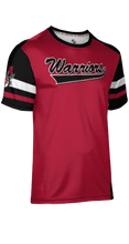Load image into Gallery viewer, Weber High School: Men's Customizable Fan-Shirt - Old School (Red)