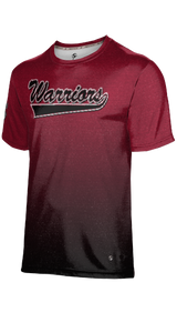 Weber High School: Men's Customizable Fan-Shirt - Ombre (Red)
