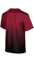 Load image into Gallery viewer, Weber High School: Men's Customizable Fan-Shirt - Ombre (Red)