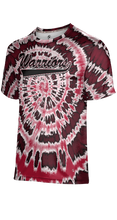 Load image into Gallery viewer, Weber High School: Men's Customizable Fan-Shirt - Tie Dye (Red)