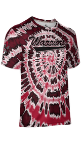 Weber High School: Men's Customizable Fan-Shirt - Tie Dye (Red)