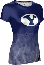 Load image into Gallery viewer, Brigham Young University: Women's T-shirt - Warp