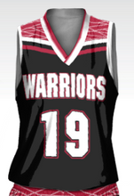 Load image into Gallery viewer, Warriors Women's Replica Basketball Fan Jersey - Down Town