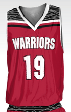 Load image into Gallery viewer, Warriors Men's Replica Basketball Fan Jersey - Down Town
