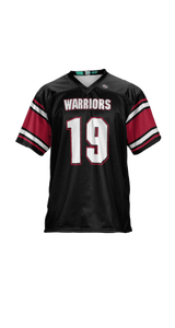 Warriors Men's Replica Football Fan Jersey - Endzone