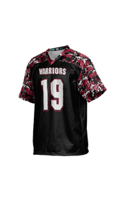 Warriors Boys' Replica Football Fan Jersey - Digital Camo