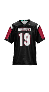 Warriors Boys' Replica Football Fan Jersey - Double Coverage