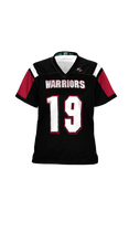 Load image into Gallery viewer, Warriors Women's Replica Football Fan Jersey - Double Coverage
