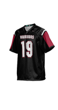 Load image into Gallery viewer, Warriors Boys' Replica Football Fan Jersey - Double Coverage