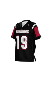 Warriors Women's Replica Football Fan Jersey - Double Coverage