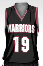 Load image into Gallery viewer, Warriors Women's Replica Basketball Fan Jersey - Three Pointer