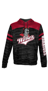 Weber Athletic Tail - Men's Premium Full Sublimation Pullover Hoodie - Burn Out