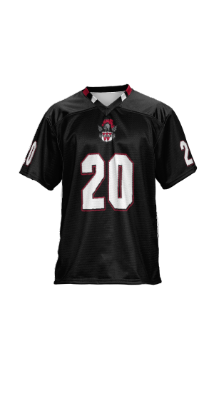Weber High School: Men's Custom Football Fan Jersey - Cut Back