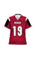 Load image into Gallery viewer, Warriors Girls' Replica Football Fan Jersey - Double Coverage