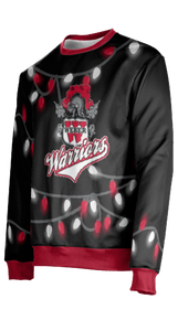 Weber High School: Unisex Ugly Holiday Sweater - Lights