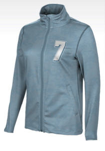 Women's Full-Zip Active Long Sleeve Jacket