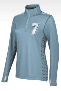 Women's Half-Zip Active Long Sleeve Jacket