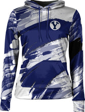 Load image into Gallery viewer, Brigham Young University: Women's Pullover Hoodie - Streak
