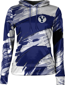 Brigham Young University: Women's Pullover Hoodie - Streak