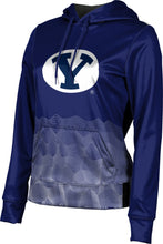 Load image into Gallery viewer, Brigham Young University: Women's Pullover Hoodie - Warp