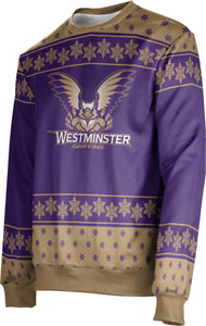 Westminster College: Unisex Ugly Holiday Sweater - Snowflake