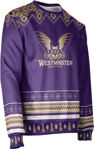 Westminster College: Unisex Ugly Holiday Sweater - Ugly Team