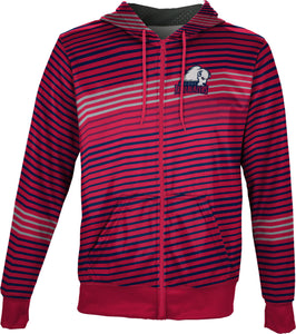 Dixie State University: Boys' Full Zip Hoodie - Vector