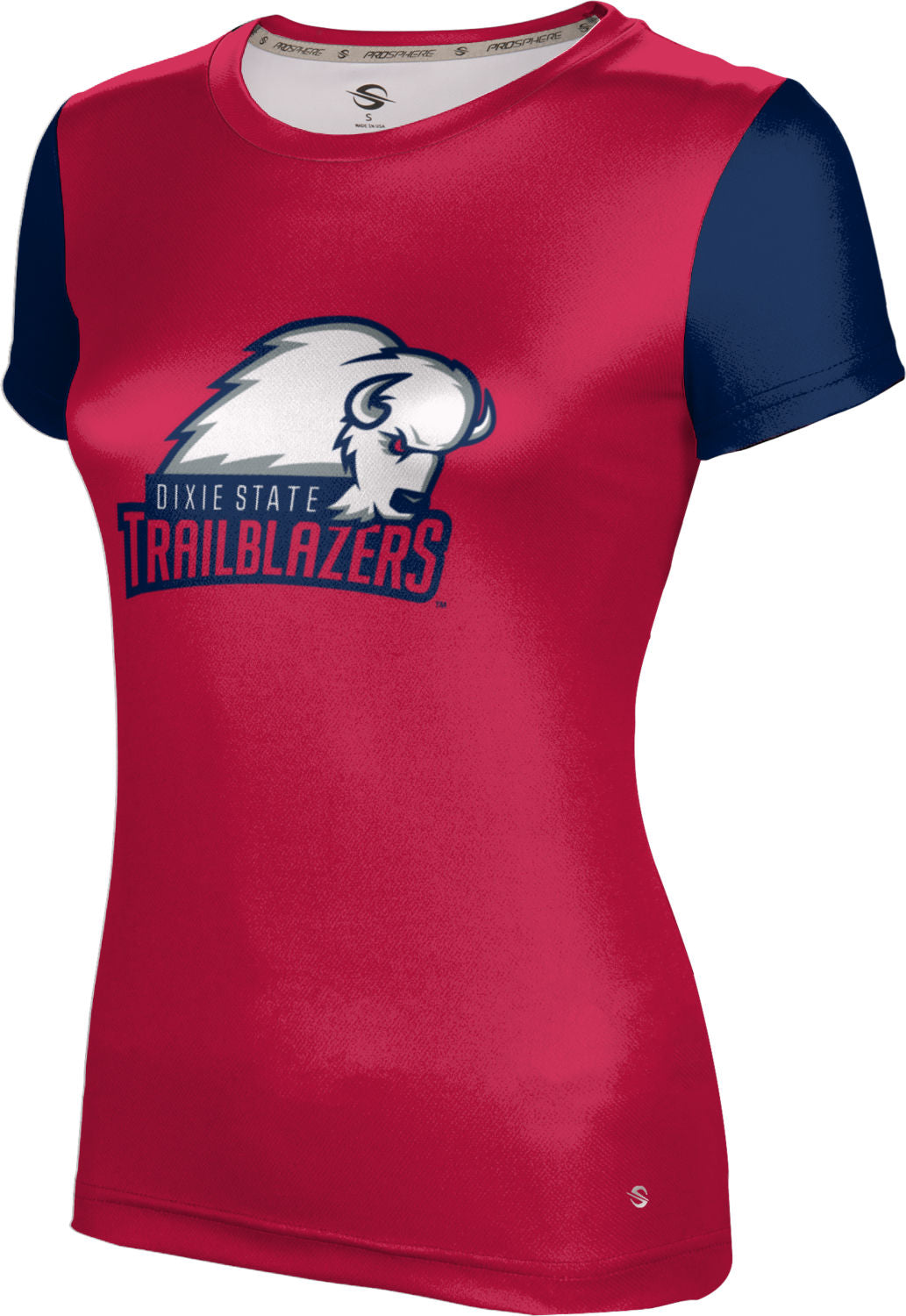 Dixie State University: Women's T-shirt - Criss Cross