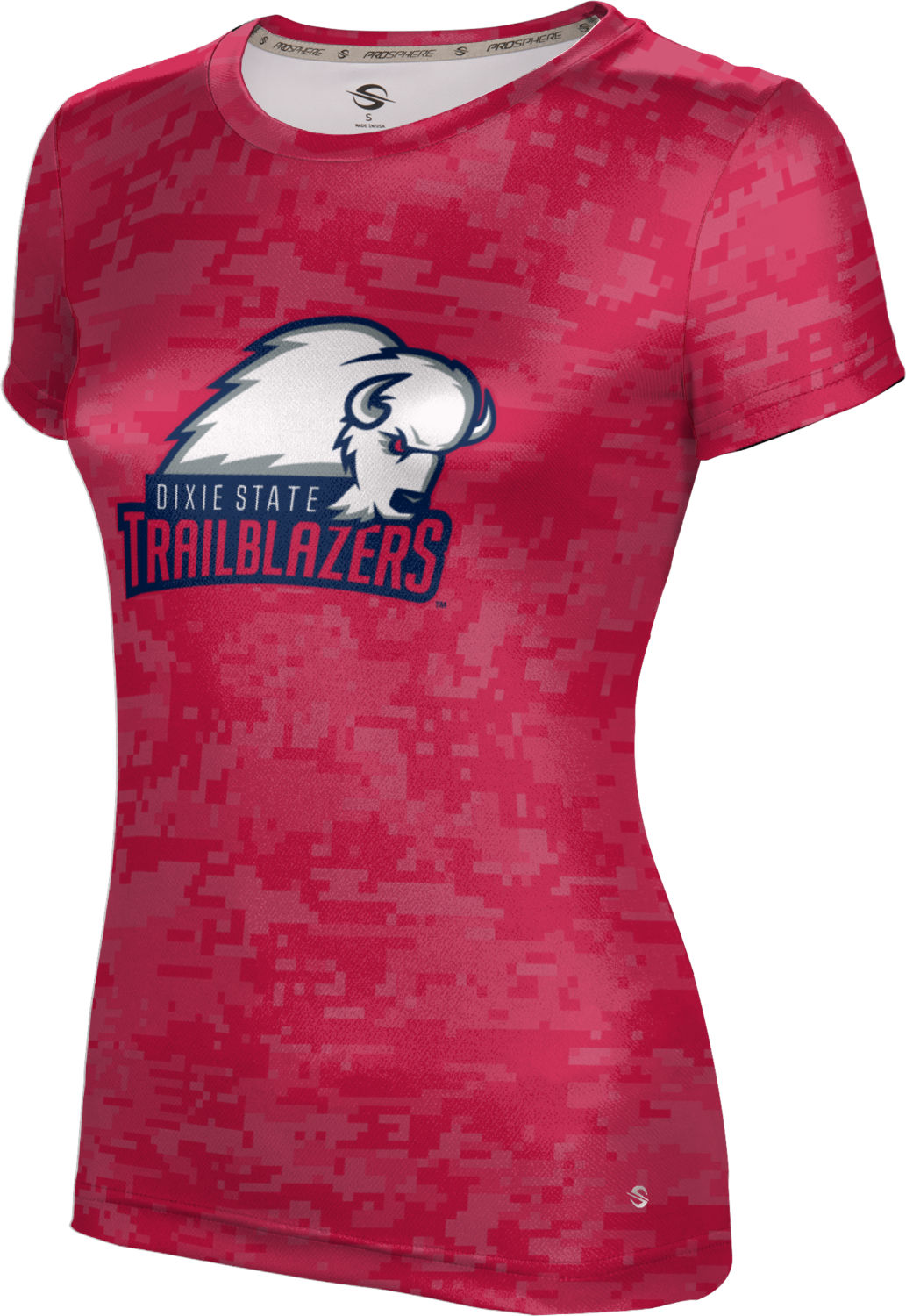 Dixie State University: Women's T-shirt - Digital