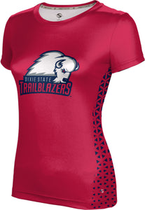 Dixie State University: Women's T-shirt - Geometric
