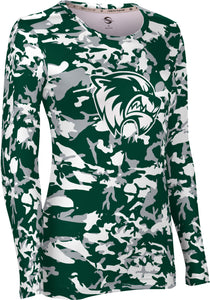 Utah Valley University: Women's Long Sleeve Tee - Camo
