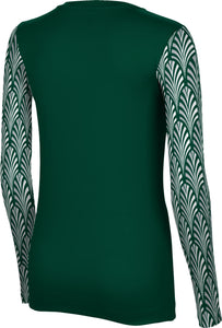 Utah Valley University: Women's Long Sleeve Tee - Deco