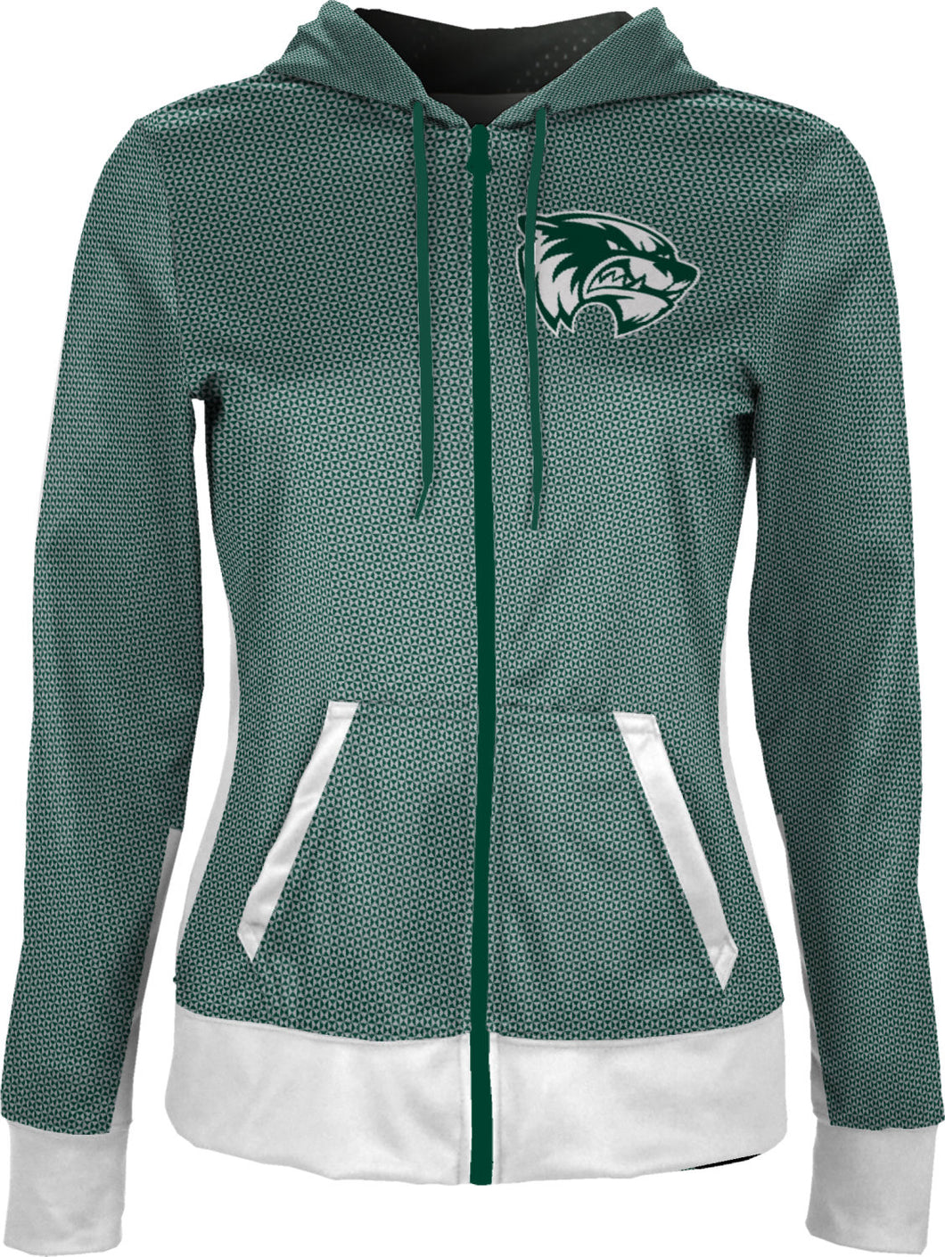 Utah Valley University: Girls' Full Zip Hoodie - Embrace