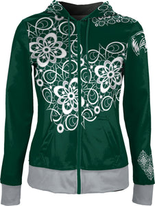 Utah Valley University: Women's Full Zip Hoodie - Foxy