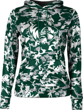 Load image into Gallery viewer, Utah Valley University: Girls' Pullover Hoodie - Camo