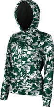 Load image into Gallery viewer, Utah Valley University: Women's Pullover Hoodie - Camo