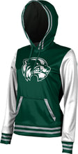 Load image into Gallery viewer, Utah Valley University: Women's Pullover Hoodie - Letterman