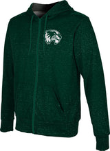 Load image into Gallery viewer, Utah Valley University: Men's Full Zip Hoodie - Heather