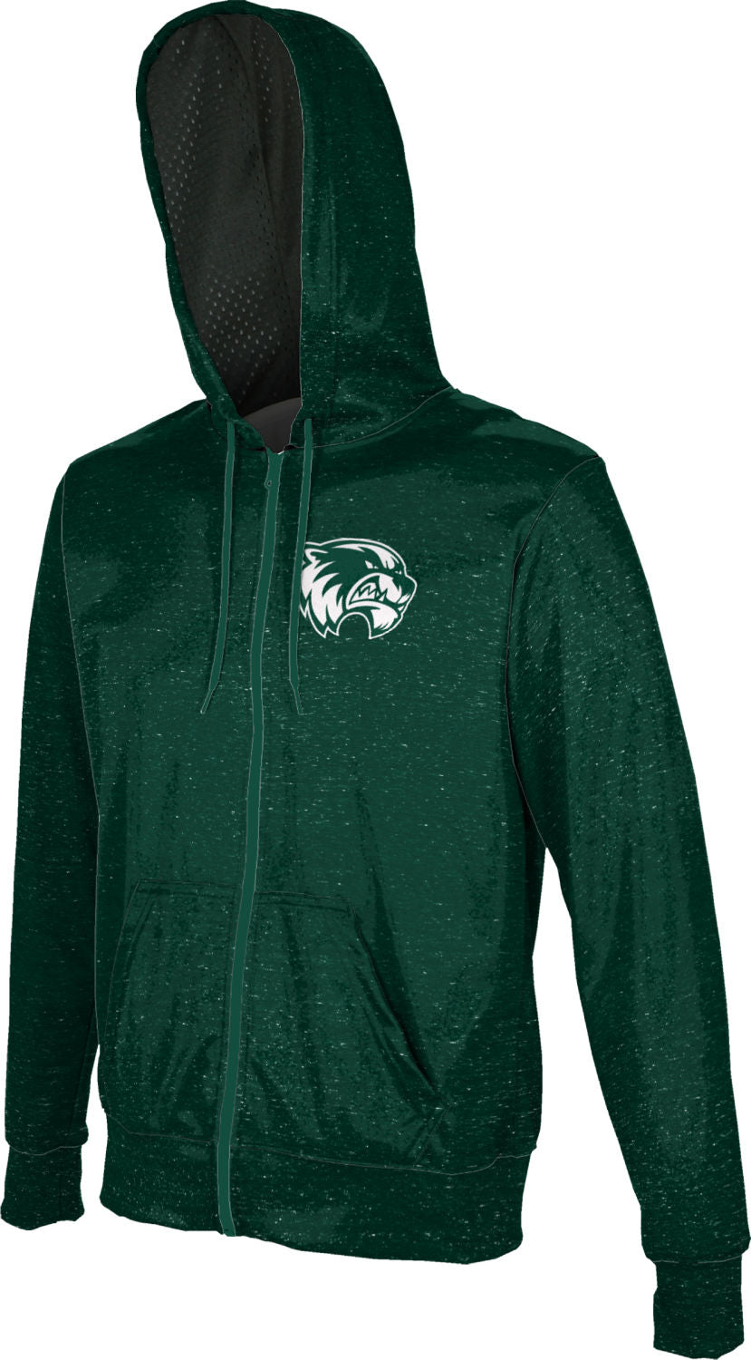 Heather ProSphere Utah Valley University Boys Full Zip Hoodie