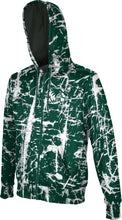 Load image into Gallery viewer, Utah Valley University: Boys' Full Zip Hoodie - Distressed
