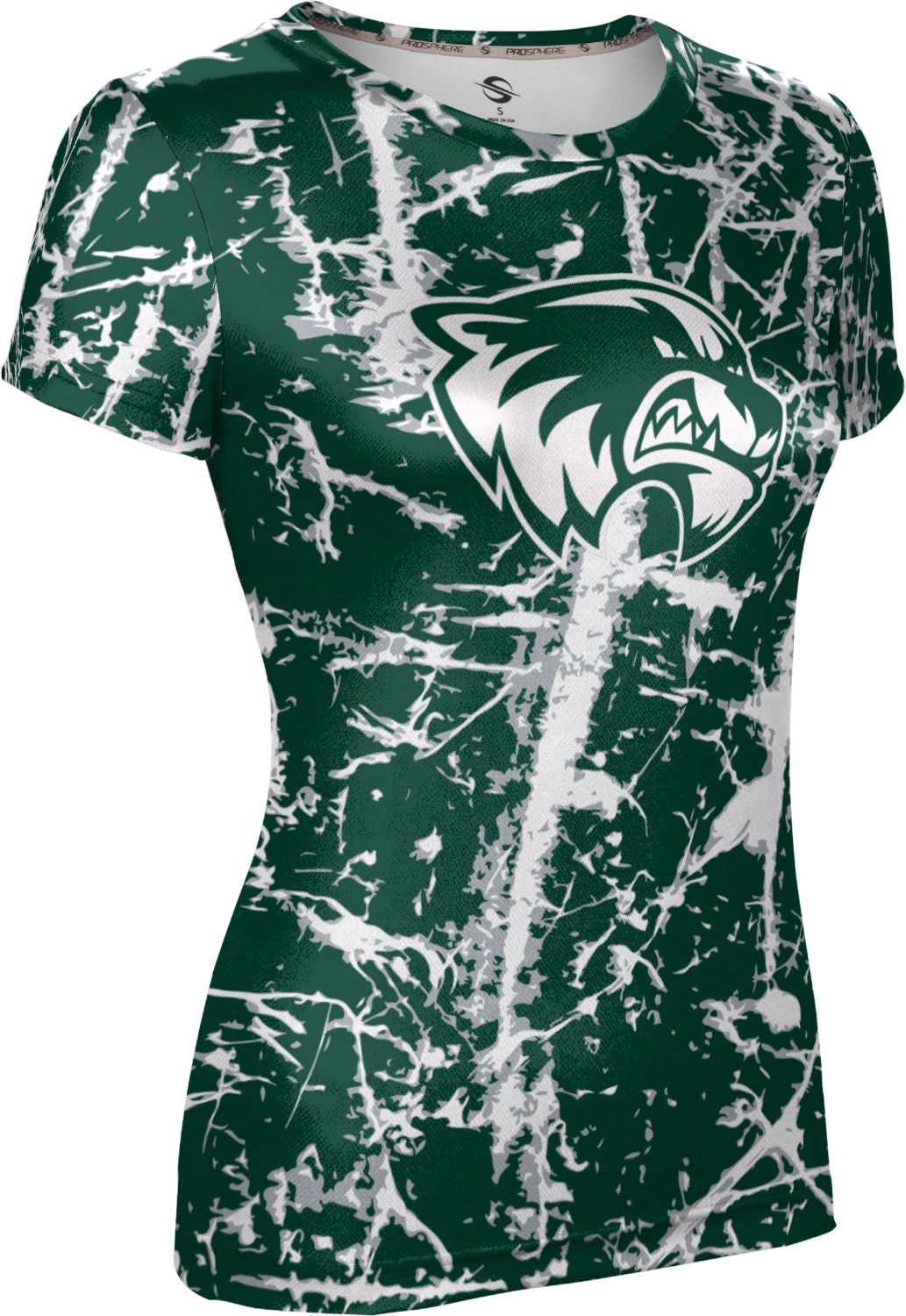 Utah Valley University: Girls' T-shirt - Distressed