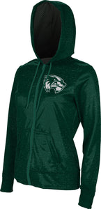 Utah Valley University: Girls' Full Zip Hoodie - Heather