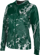Load image into Gallery viewer, Utah Valley University: Girls' Full Zip Hoodie - Marble