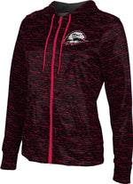 Southern Utah University: Girls' Full Zip Hoodie - Brushed