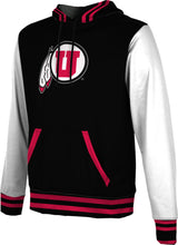 Load image into Gallery viewer, University of Utah Men's Pullover Hoodie - Letterman