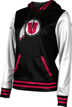 Load image into Gallery viewer, University of Utah: Women's Pullover Hoodie - Letterman