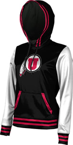 University of Utah: Women's Pullover Hoodie - Letterman