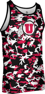 University of Utah Men's Performance Tank - Camo