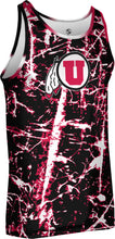 Load image into Gallery viewer, University of Utah Men's Performance Tank - Distressed